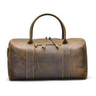 WALNUT OVERNIGHT BAG CRISTEN. - 1