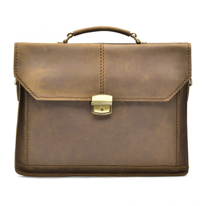 CAMEL BRIEFCASE CALLIE. - 5