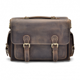 DARK WALNUT CAMERA BAG JAYLEN. - 1