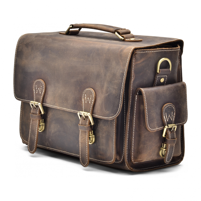 DARK WALNUT CAMERA BAG JAYLEN. - 2
