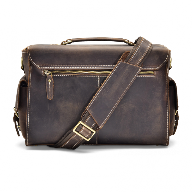 DARK WALNUT CAMERA BAG JAYLEN. - 3