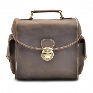 WALNUT CAMERA BAG EDRIS. - 1