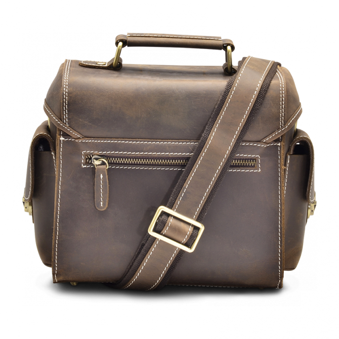 WALNUT CAMERA BAG EDRIS. - 3