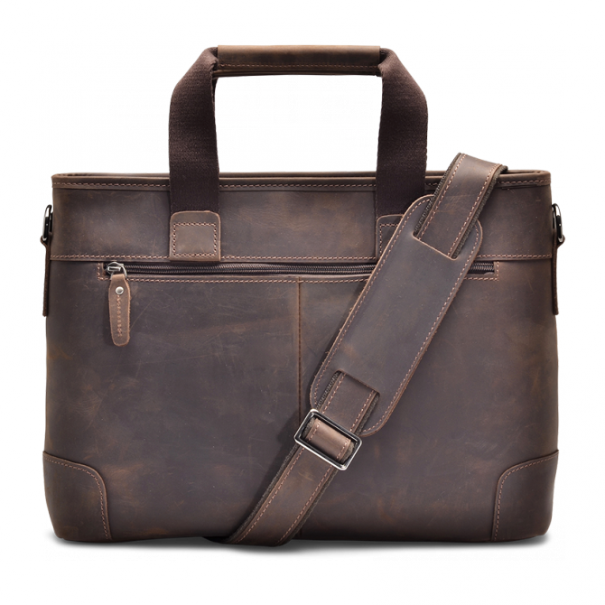 UMBER SLIM BRIEFCASE HARVY. - 3