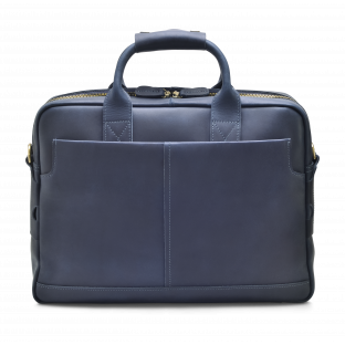 DARK BLUE SLIM BRIEFCASE