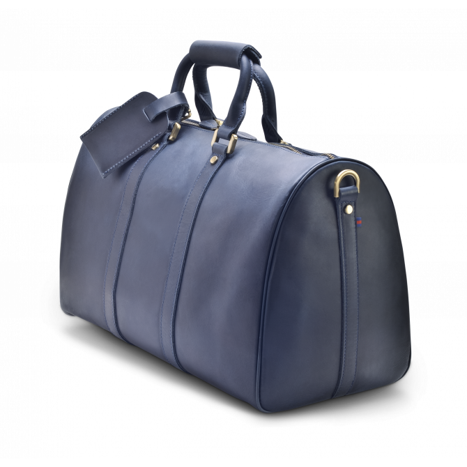 DARK BLUE WEEKEND BAG EIRIK. - 2
