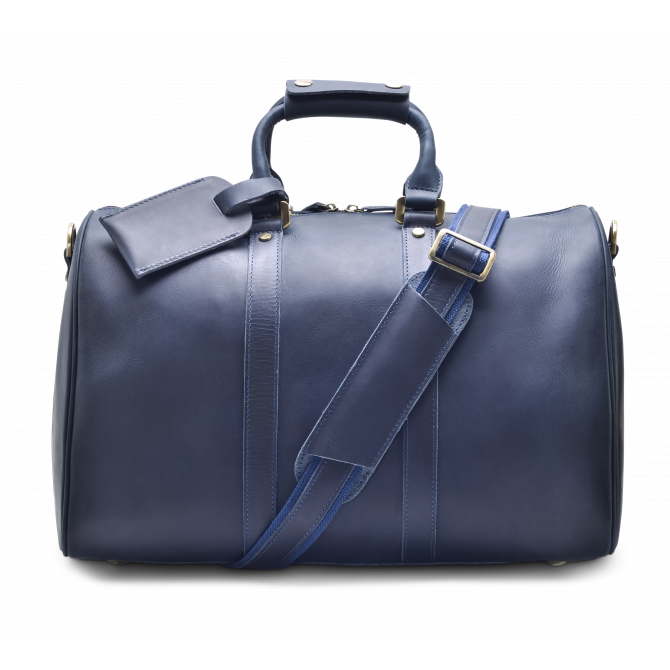 DARK BLUE WEEKEND BAG EIRIK. - 3