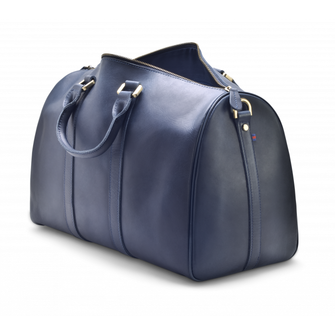 DARK BLUE WEEKEND BAG EIRIK. - 4