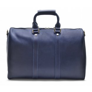 DARK BLUE WEEKEND BAG EIRIK. - 1