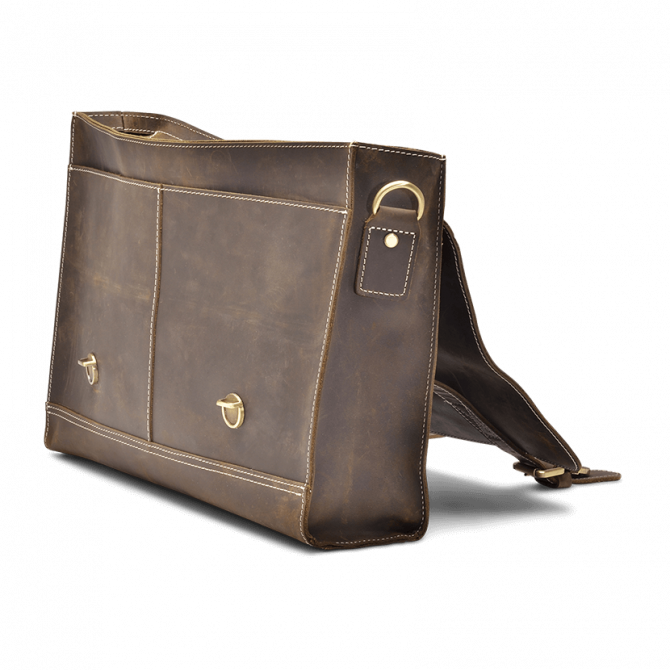 UMBER RETRO MESSENGER BAG ARLIS. - 2