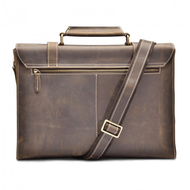 UMBER RETRO MESSENGER BAG ARLIS. - 4