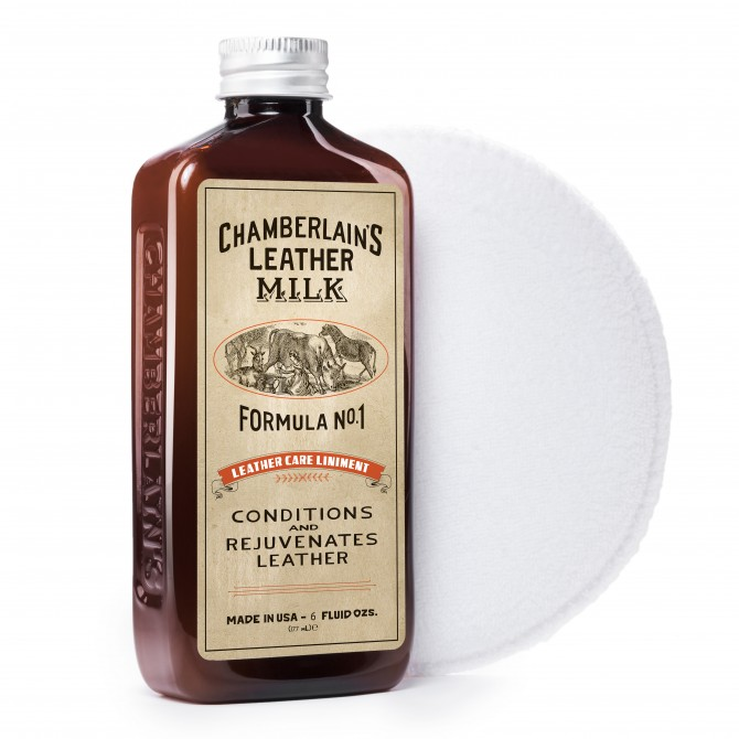 CHAMBERLAIN'S FORMULA N°1 - 6OZ CHAMBERLAIN'S LEATHER CARE LINIMENT MILK - 2