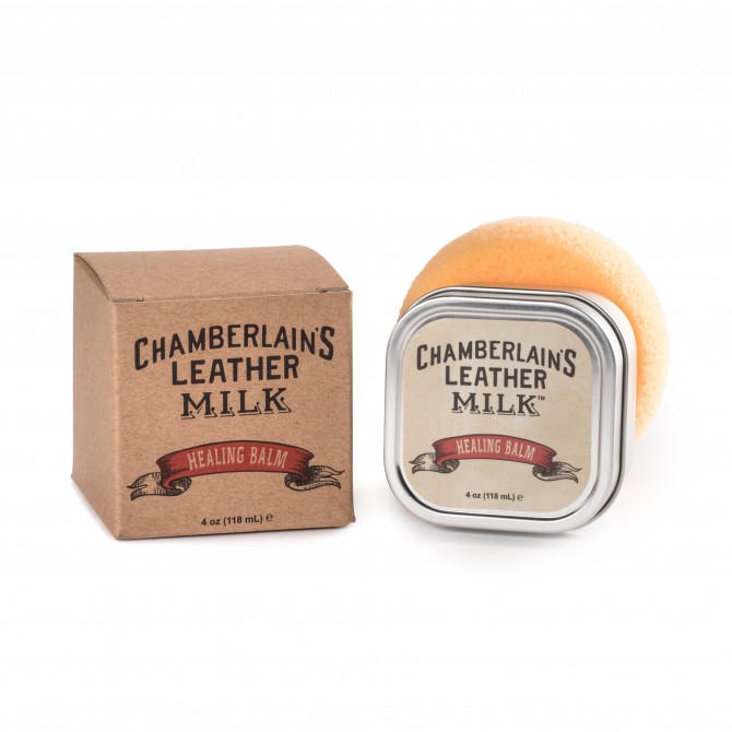 CHAMBERLAIN'S HEALING BALM - 4OZ LEATHER CARE HEALING BALM - 8