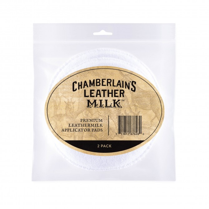 CHAMBERLAIN'S APPLICATOR PAD LEATHERMILK APPLICATOR PADS - 2