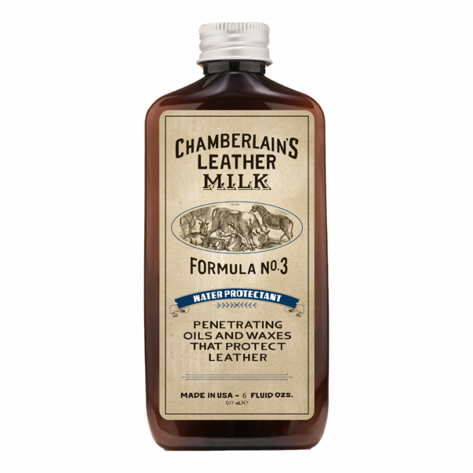 CHAMBERLAIN'S FORMULA N°3 - 6OZ LEATHER CARE WATER PROTECTANT - 1